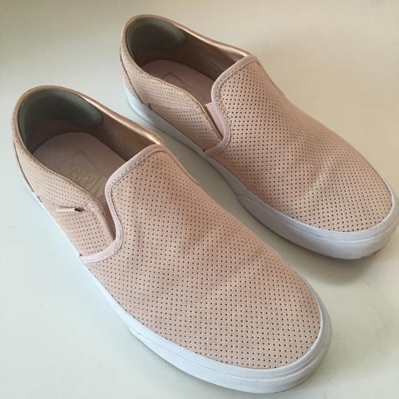 Vans Asher Perforated Slipon Sneaker